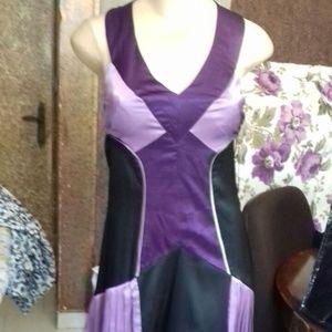 Bebe multicolour silk dress